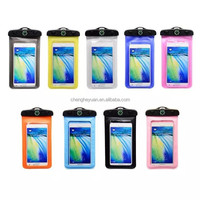 2015 New Guide PVC Waterproof Bag Mobile Phone Accessory For all phone / iphone / sumsung