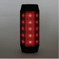 built in rechargeable 3.7 v / 1800 mAh lithium battery With 48pcs LED light, 7 LED colors