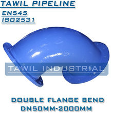 TAWIL flexible socket ends Ductile iron bend