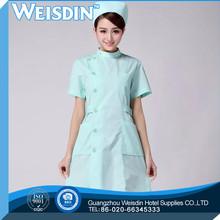 Anti-bacterial Guangzhou soft red & black pvc darque military nurse uniform/design nurse uniform