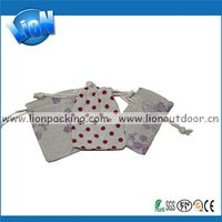 2014 Cheapest alibaba china flax burlap pouch