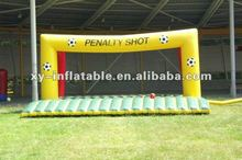 inflatable football shootout penalty shootout soccer kick sport game for sale