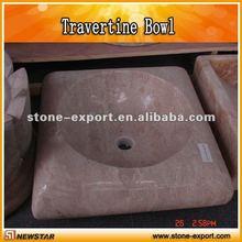 Esculpida Farm pia de mármore