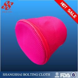high-quality fine mesh printing folding bra laundry bag