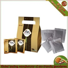 organic ganoderma green tea blended teabag