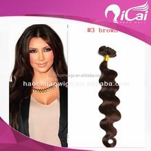virgin pure peruvian hair braiding remy human hair weave
