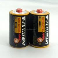 Carbon Zinc Battery with Protective Cap R20