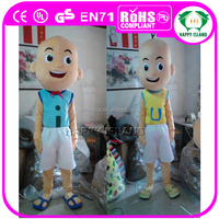HI CE Hot sale adult upin & ipin mascot costume