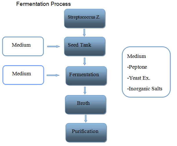 High purity fermentation source best price health food ingredient pure hyaluronic acid 9004-61-9