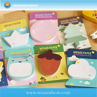 promotional printing round sticky note