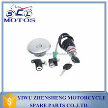 SCL-2013070730 TS125ER motorcycle lock sets fuel tank Lock Key Switch Ignition Gas Cap