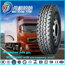 13R22.5 Tubeless all steel radial truck tyre 13R22.5 made in china WEIHANG Brand