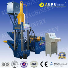 AUPU Y83-315 Hot sale hydraulic shaving iron briquetting press machine TUV