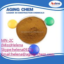 China Admixtures In Concrete Lignosulphonate Sodium Salt Textile Bonding Agent SLS-MN2C ceramics reliable manufacturer
