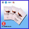 Facial mask pouch customized bag aluminum foil cosmetic package bag