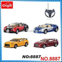 1:43 RC Die cast mini rc car WL8887