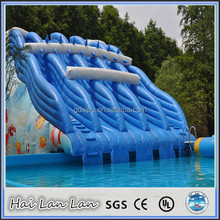 2015 hot sale china style banzai inflatable water slide for adults