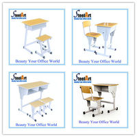 2014 structure metal design high school table &chair