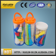 ribbon type self-locking smooth application heat-resisting cute flexible cable ties