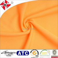 Chuangwei Textile football pattern DTY polyester bird eye mesh fabric for T shirt