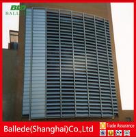 horizontal aeerofoil blade for wall sun shades louver