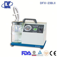 DFX-23B.II Emergency Aspirator Device mobile dental suction unit vacuum suction body machine