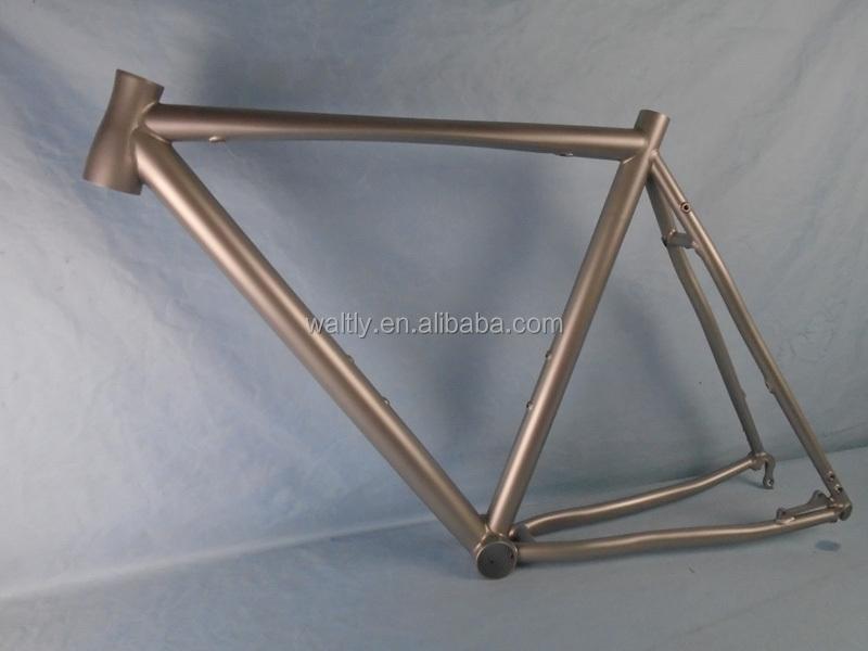 Disc Brake 700c Cyclocross Titanium Frame With Flattube - Buy Disc ...