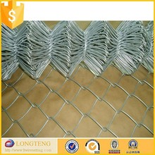 China made hot dipped gi chain link mesh fence for dogs