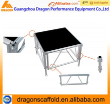 Hot sale outdoor aluminum concert stage,professional event stage