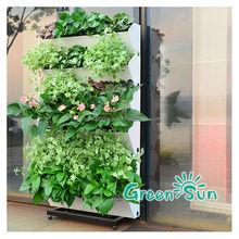 beutiful vertical hanging garden for garden decorate