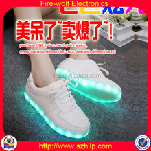 Novelty new party decor articles Dancing Color Changing Led Lights Shoes