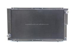 Fits 1992-2000 SUBARU IMPREZA WRX STI CLASSIC GC8 MK1 BLACK PAINTED Full Aluminium Radiator