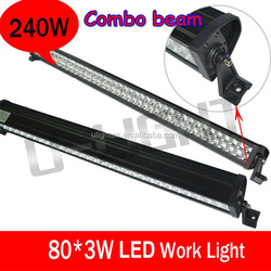 240w high quality car led light bar 24w/36w/60w/72w/120w/180w/240w/300w off road LED light bar