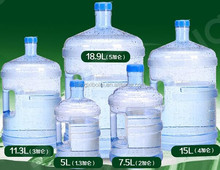 Plastic Water Jug Bottle 5 Gallon 4 Gallon 3 Gallon 2 Gallon 1.3 Gallon