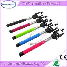 Z07-5 plus handheld self timer wired mono pod, cable take pole mono pod