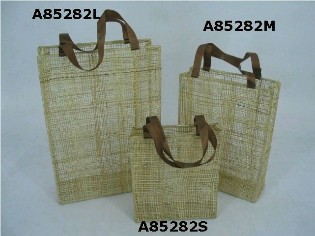 how to make abaca bags