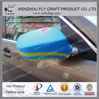 2015 customized polyester car side mirror flag