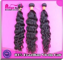 Real Remy 100% Human Virgin Brazilian Hair Water Wave hair wet and wavy bulk hair