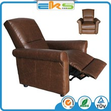 PU PVC LEATHER UPHOLSTERED MODERN LIVING ROOM FURNITURE CALSSIC LOUNGE HOTEL PUSH BACK RECLINER ARMCHAIR