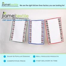 Wholesale 100% Linen Printed Plain Tea Towel /Dish Towel