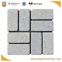 High quality granite Rectangle mesh paver