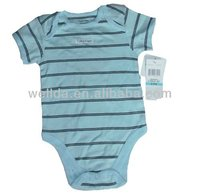 summer new model baby vest/cotton striped baby suits