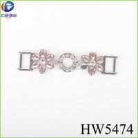 metal small crystal rhinestone for shoe belt