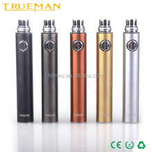 TRUEMAN newest HAHA battery evod usb passthrough E-cig