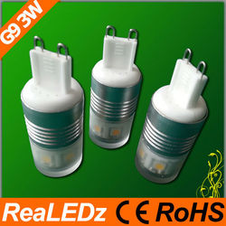 3w G9 led bulb as ushine light science and technology shanghai