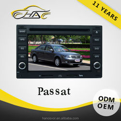 windows universal for vw passat dvd player with usb/sd card and mic port