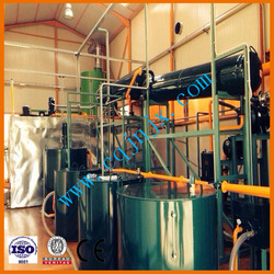Base oil refinery from used car/truck/ship engine oil ! China ZSA black oil recycle