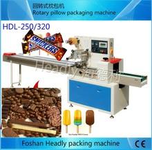 Foshan Headly automatic chocolate bar pillow packaging machine price