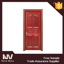 Wholesale new design modern main entry wood door exterior price