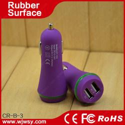 Hot badminton Shape 5v 2100ma family one usb car charger